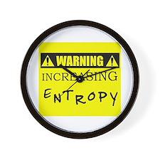 WARNING: Increasing Entropy Wall Clock