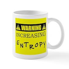 WARNING: Increasing Entropy Mug