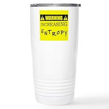 WARNING: Increasing Entropy Travel Mug