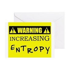 WARNING: Increasing Entropy Greeting Card