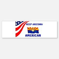 THIS IS AMERICA Bumper Bumper Sticker