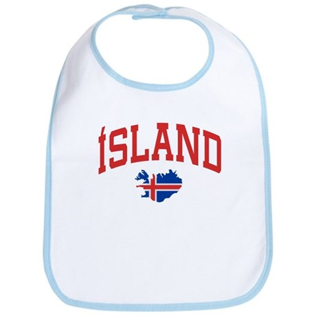 Island Map Bib