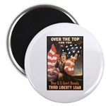 Over the Top Liberty Bonds Magnet