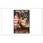 Over the Top Liberty Bonds Large Poster