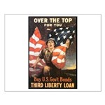 Over the Top Liberty Bonds Small Poster