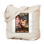 Over the Top Liberty Bonds Tote Bag