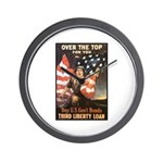 Over the Top Liberty Bonds Wall Clock