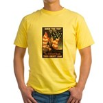 Over the Top Liberty Bonds Yellow T-Shirt