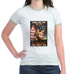 Over the Top Liberty Bonds Jr. Ringer T-Shirt