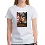 Over the Top Liberty Bonds (Front) Women's T-Shirt