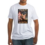 Over the Top Liberty Bonds (Front) Fitted T-Shirt