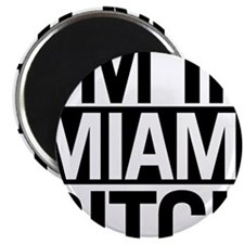 """Funny Miami 2.25"""" Magnet (10 pack)"""
