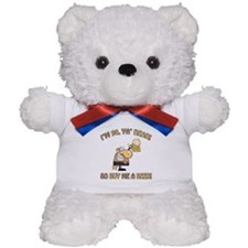 90th Birthday Beer Teddy Bear