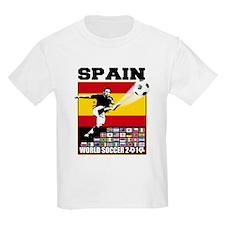 Spain World Soccer T-Shirt