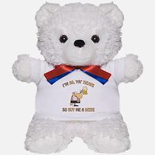50th Birthday Beer Teddy Bear