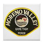 Moreno Valley Gang Task Force Tile Coaster