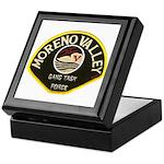 Moreno Valley Gang Task Force Keepsake Box