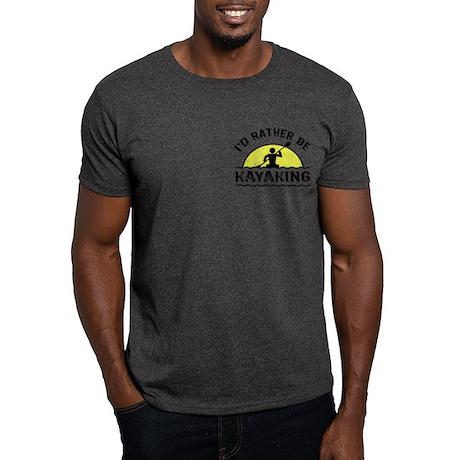 I'd Rather Be Kayaking Dark T-Shirt