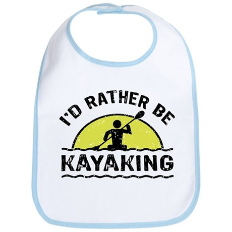 I'd Rather Be Kayaking Bib