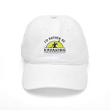 I'd Rather Be Kayaking Baseball Cap
