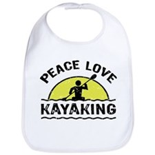 Peace Love Kayaking Bib