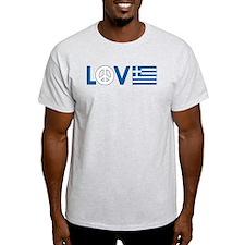Love Peace Greece T-Shirt