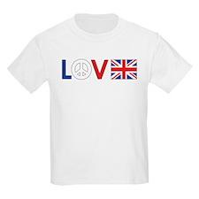Love Peace Britain T-Shirt