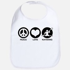Peace Love Kayaking Bib