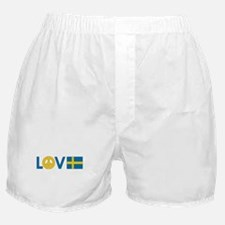 Love Peace Sweden Boxer Shorts