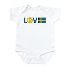 Love Peace Sweden Infant Bodysuit