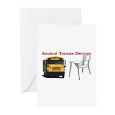 Ancient Torture Devices-2 Greeting Cards (Pk of 20
