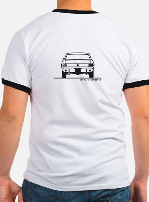 65 Mustang Front and Back T