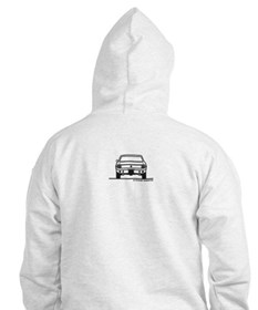 65 Mustang Front and Back Hoodie