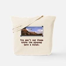 Obama Economy Tote Bag