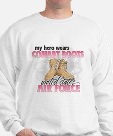 Funny Real air force girlfriend Sweatshirt