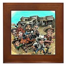 Official GUNSMOKE 55th Anniversary Framed Tile