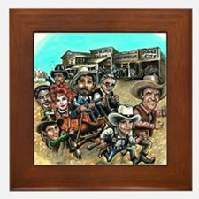 Official GUNSMOKE 55th Anniversary Framed Tile