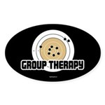 Group Therapy - Guns Sticker (Oval)
