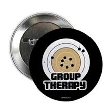 "Group Therapy - Guns 2.25"" Button (10 pack)"