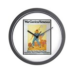 War Gardens Victorious Wall Clock