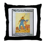 War Gardens Victorious Throw Pillow