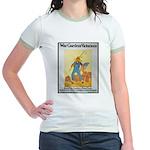 War Gardens Victorious (Front) Jr. Ringer T-Shirt