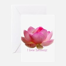 love Yoga! Greeting Card