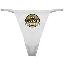 Taos Gold Classic Thong