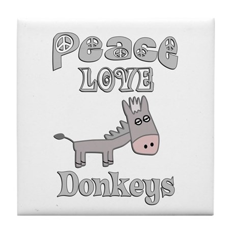 Donkey Tile Coaster