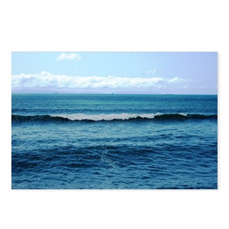 Blue/Green Ocean Postcards (Package of 8)