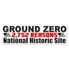 """2,752 Reasons"" Bumper Sticker"