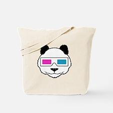 3D Panda Tote Bag