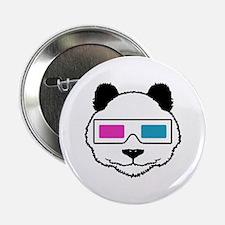 "3D Panda 2.25"" Button"