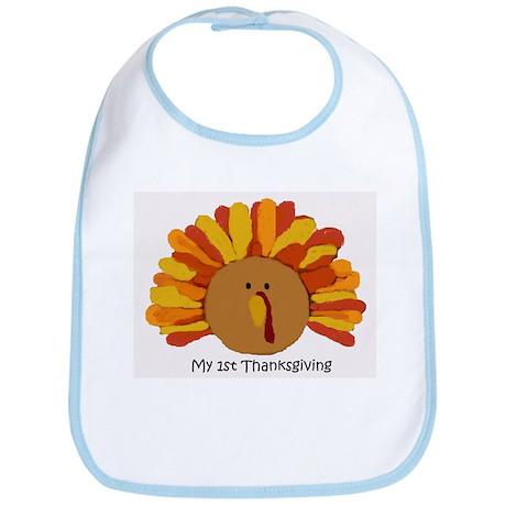 Baby's First Thankgiving Bib